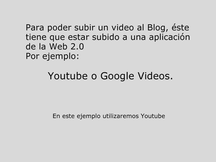 2009 Video (Clara) Slide 2