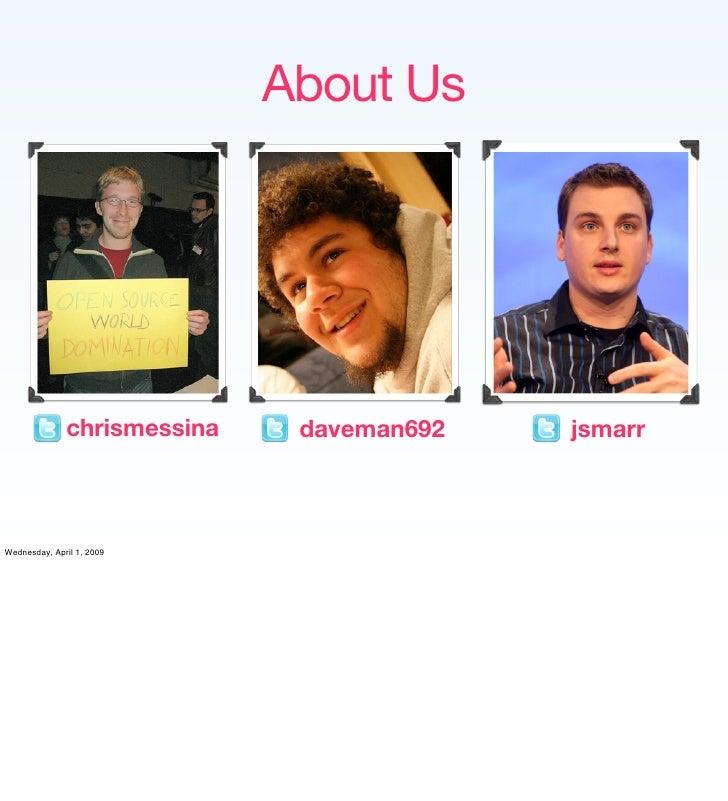 Implementing the Social Web Slide 2