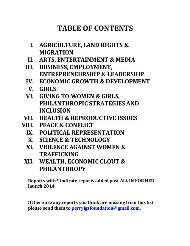 Top 200+ Reports on Women and Girls Slide 2