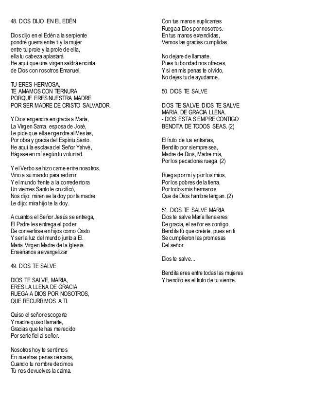 200 cantos a maria sin acordes for Tu jardin con enanitos acordes
