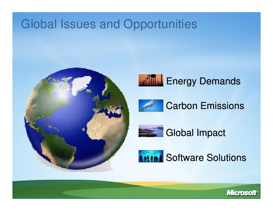 Rob Bernard: IT Solutions For A Low Carbon Economy Slide 2