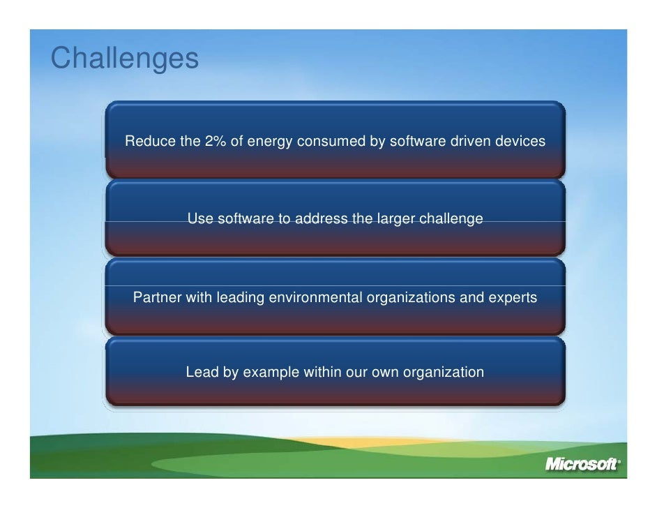 Rob Bernard: IT Solutions For A Low Carbon Economy Slide 3