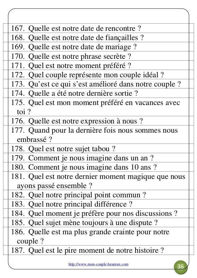 Questionnaire rencontre amoureuse [PUNIQRANDLINE-(au-dating-names.txt) 58