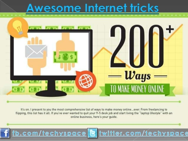 Awesome Internet tricks