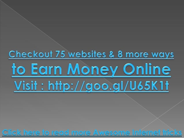 click earn money 200 ways and websites to earn money online without 1811