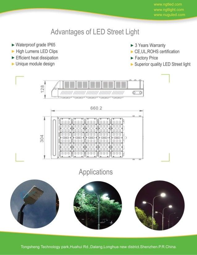 200 w led street light