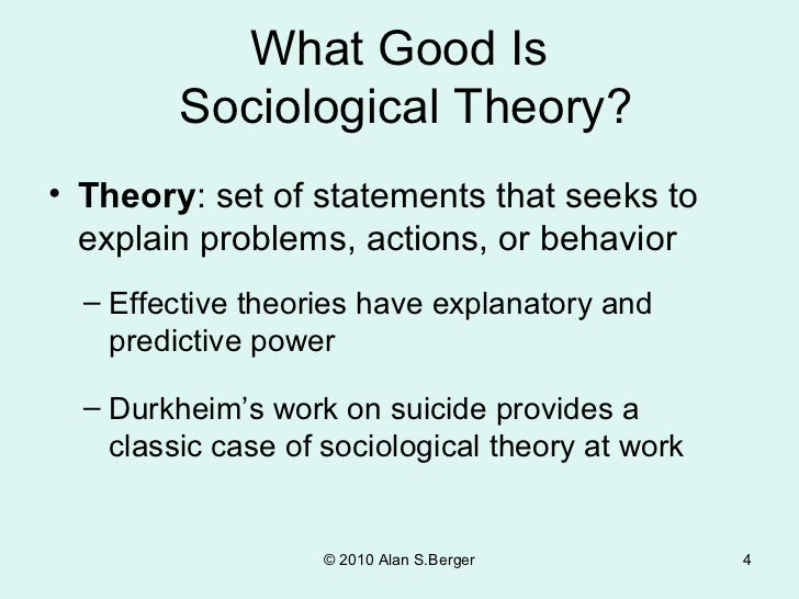 "durkheim's theories focusing on sociological methodology Read this essay on ""contributions made by karl marx, max weber and emile durkheim to the research methodology used in social sciences"" come browse our large."