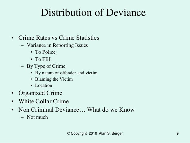types of deviance