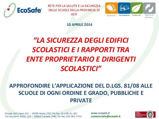 Strada Del Casas 6/2 – 10090 Rosta (TO) Tel-Fax 011/95.41.201 Via Giovanni XXIII, 2/A – 20866 Carnate (MB) Tel-Fax 039 963...