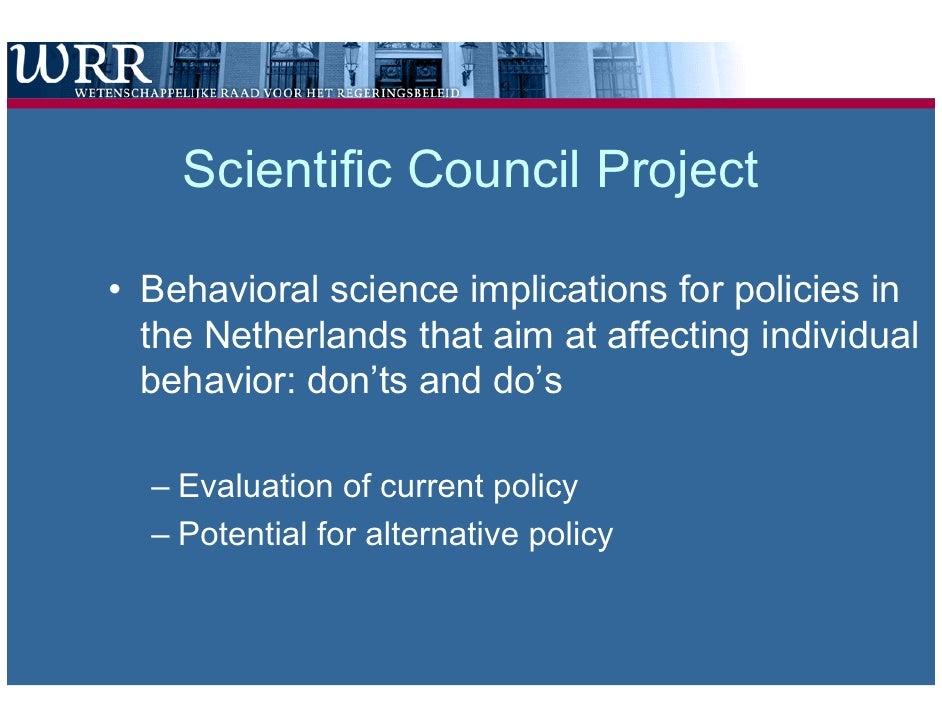 Behavioral Science Conference Wrr Tiber Netspar Ministry Of Finance