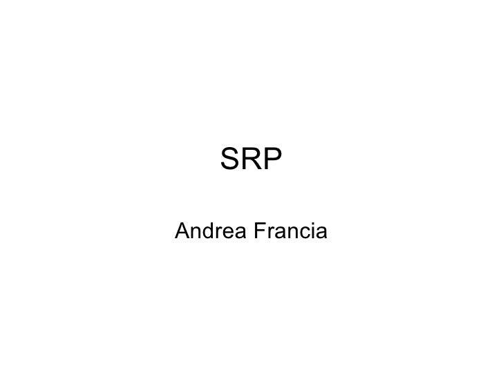 SRP Andrea Francia