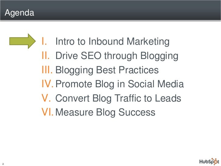Achieving Measurable Results with Advanced Business Blogging Slide 2