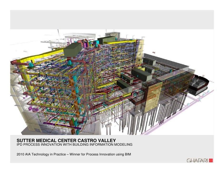SUTTER MEDICAL CENTER CASTRO VALLEY IPD PROCESS INNOVATION WITH BUILDING INFORMATION MODELING  2010 AIA Technology in Prac...