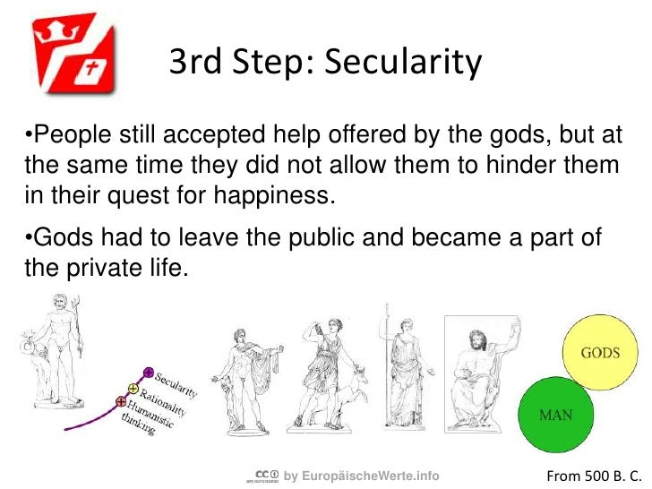 2nd Step: Rationality<br /><ul><li>People start to question gods and investigate their environment.