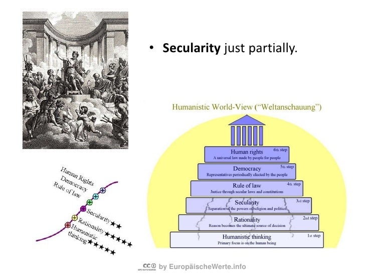 Voila - a fullydevelopedhumanisticworld-view<br />Itstartswithgiving a valuetothe individual (Humanisticthinking) andiscom...