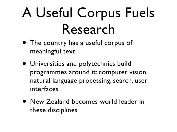 Useful Build Corpus