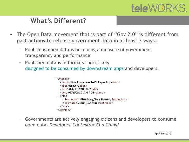 Leveraging the Government Platform Slide 3
