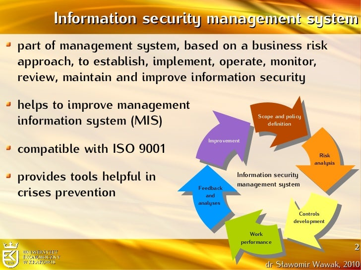 the importance of management information systems for a company Role of management information system  the goals and objectives  of the mis are the products of business goals and objectives.