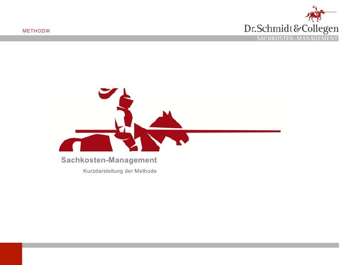 METHODIK                                              SACHKOSTEN-MANAGEMENT                Sachkosten-Management          ...