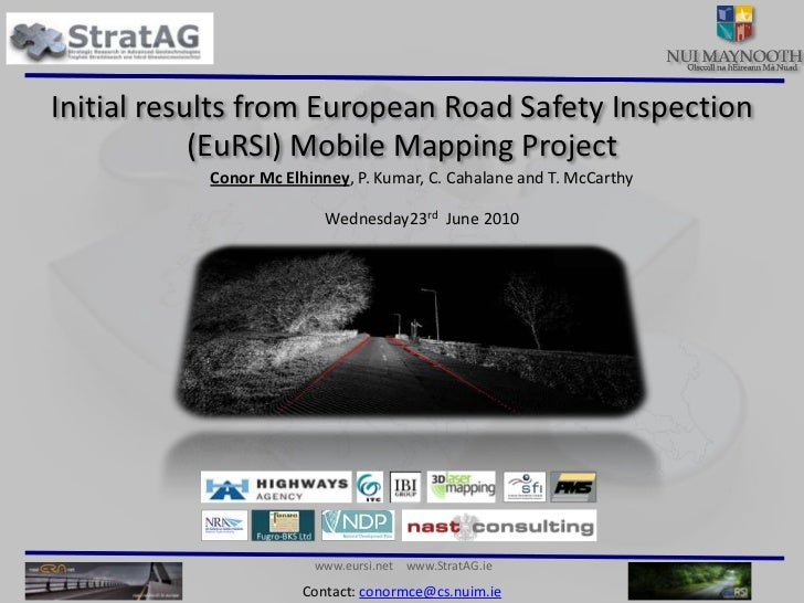 Initial results from EuRSI project