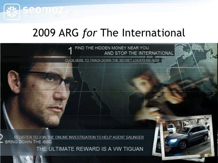 2009 ARG  for  The International