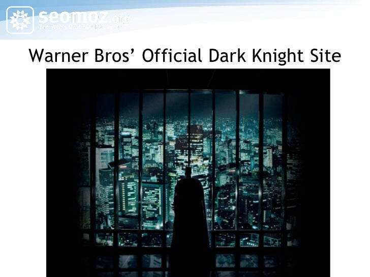 Warner Bros' Official Dark Knight Site