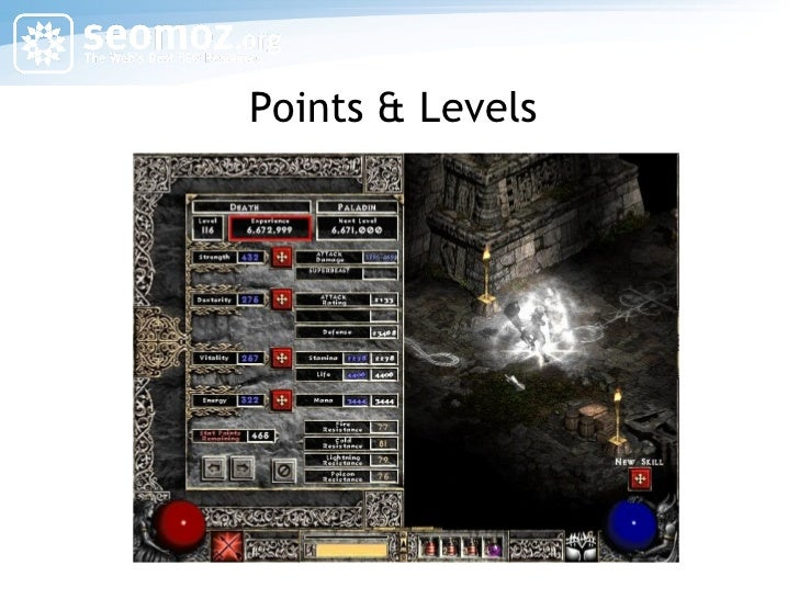 Points & Levels