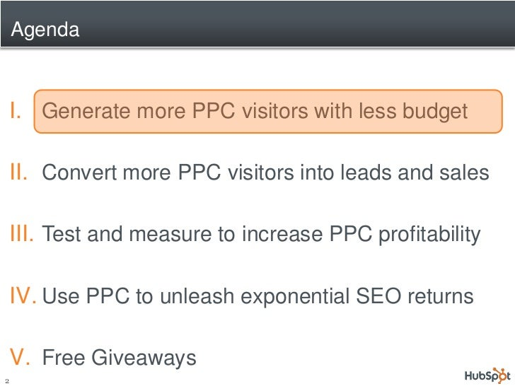 Double Your PPC Leads at Half the Cost Slide 2