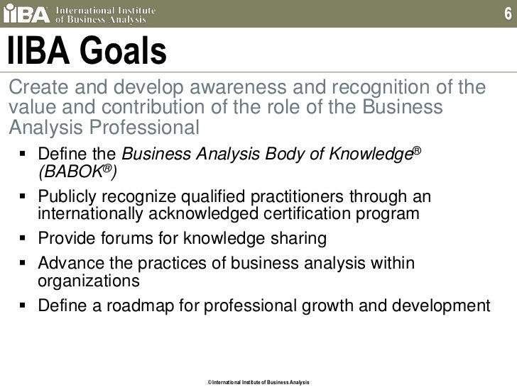 """an introduction to the analysis of businesses today How does ongoing business analysis compare to the initial business analysis ongoing analysis isn't as time-intensive as the initial analysis because it doesn't need to start from the ground up the system is in place, and now it's a matter of optimizing the system refresher"""" or check-up"""" analyses are typically 1 to 3."""