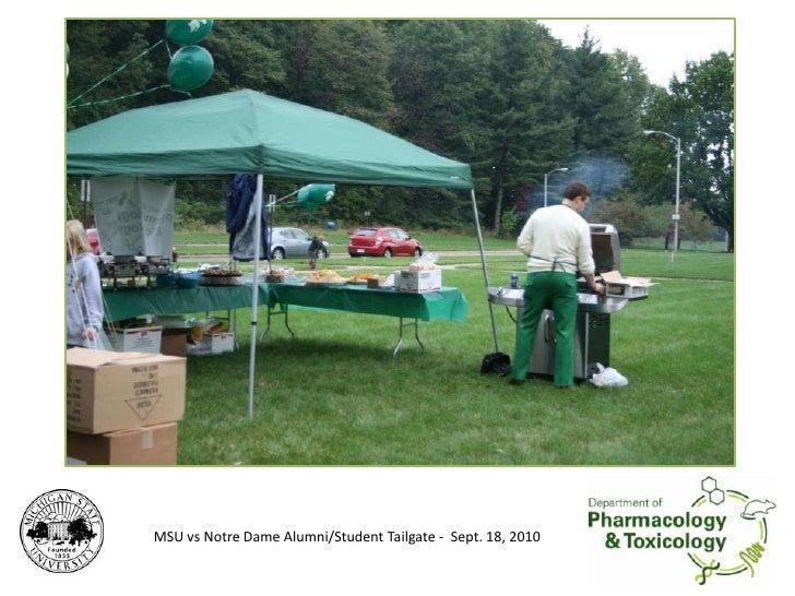 MSU vs Notre Dame Alumni/Student Tailgate -  Sept. 18, 2010<br />