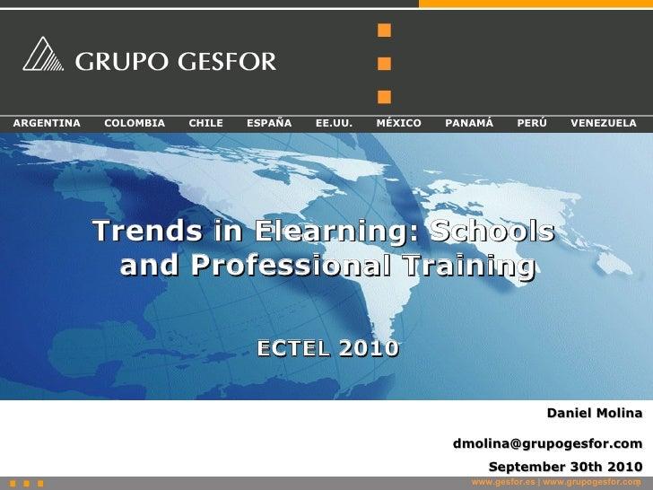 ARGENTINA   COLOMBIA   CHILE   ESPAÑA   EE.UU.   MÉXICO   PANAMÁ      PERÚ       VENEZUELA                 Trends in Elear...