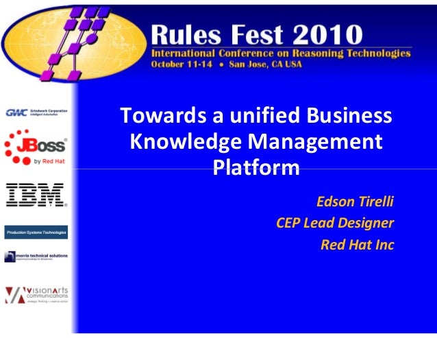 Towards a unified Business Knowledge Management PlatformPlatform Towards a unified Business Knowledge Management PlatformP...