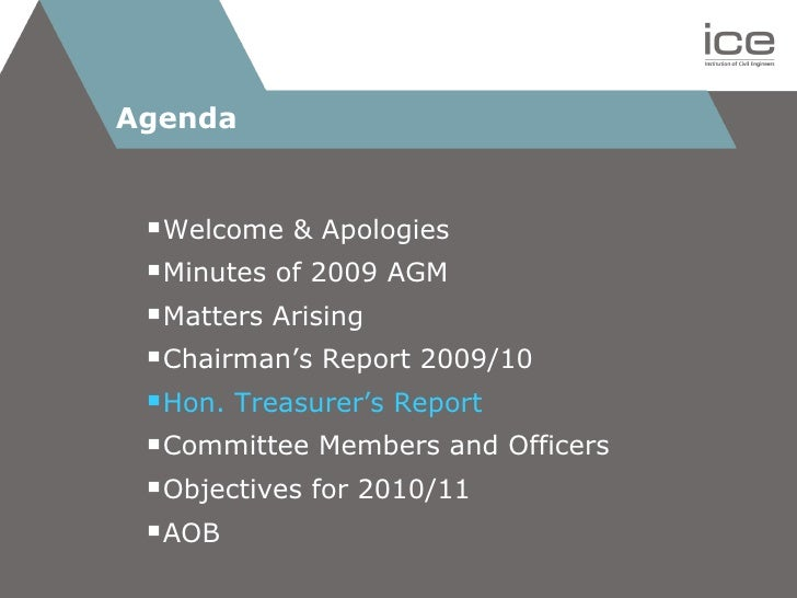 ICE Essex 2010 AGM presentation Slide 2