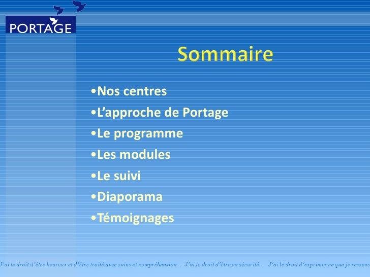 Réadaptation en toxicomanie pour adolescents - Portage à Saint-Malachie Slide 2