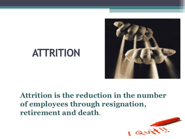 attrition analysis indian organized retail Attrition analysis – indian organized retail sector employee retention is a process in which the employees are encouraged to remain with the organization for the maximum period of time and it benefits the organization as well as the employee.