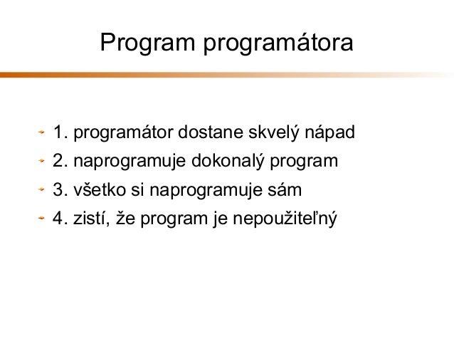 Programovanie v C++ Slide 3