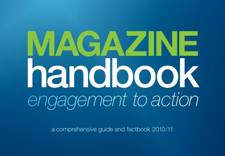 MAGAZINE handbook engagement to action   a comprehensive guide and factbook 2010/11