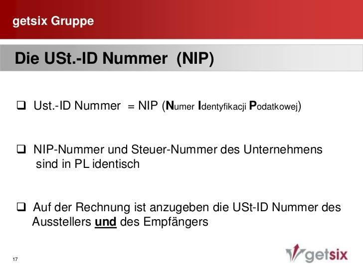 """getsix Gruppe<br />11<br /> Pflichtangaben auf der Rechnung<br />  1.    Bezeichnung""""Faktura VAT""""<br />  2.    Name und An..."""