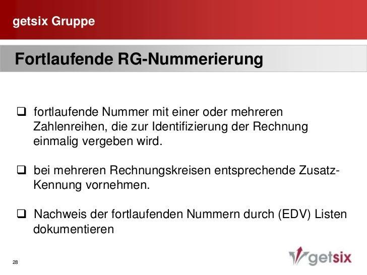 getsix Gruppe<br />20<br /><ul><li>Prüfung polnische NIP von deutscher Seite aus</li></li></ul><li>getsix Gruppe<br />21<b...