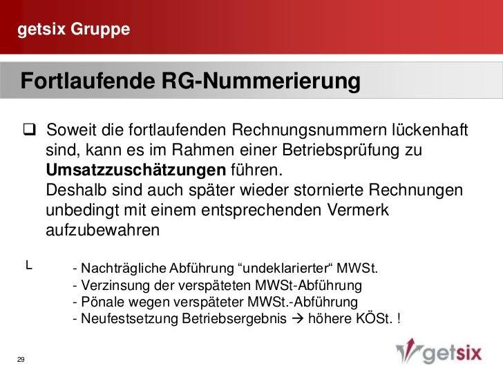 getsix Gruppe<br />25<br /> Prüfung der NIP-Nummer<br />