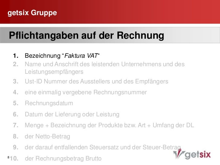 Aufbewahrung Geschäftsbücher am Sitz der    Gesellschaft</li></li></ul><li>getsix Gruppe<br />4<br /> Externe Buchführun...