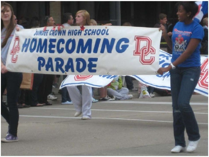 2010 11 homecoming parade