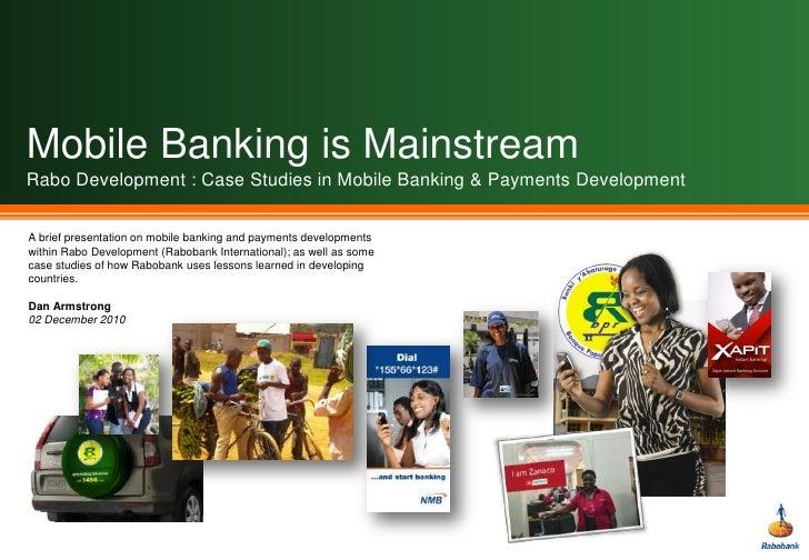 Mobile Banking & Rabo Development Partner Banks
