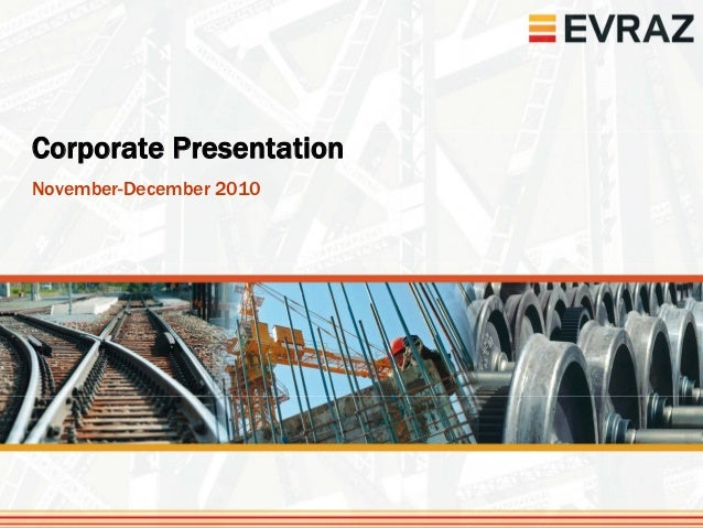 Corporate PresentationNovember-December 2010