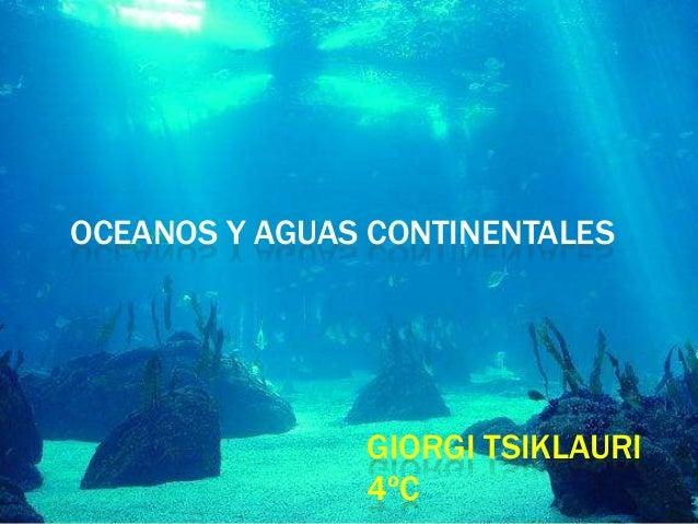 ecosistemas de aguas continentales Es la parte de la geografía física, encargada de estudiar las aguas que se.