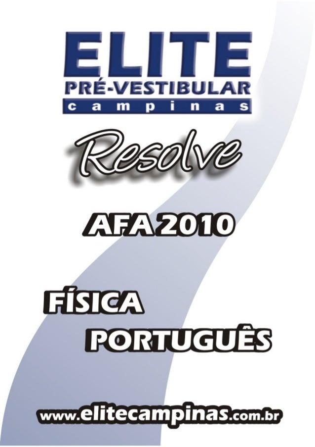 (19) 3251-1012 www.elitecampinas.com.br FÍSICA PORTUGUÊS Prova 21 Prova 22 Prova 23 Prova 21 Prova 22 Prova 23 1 C B D 21 ...