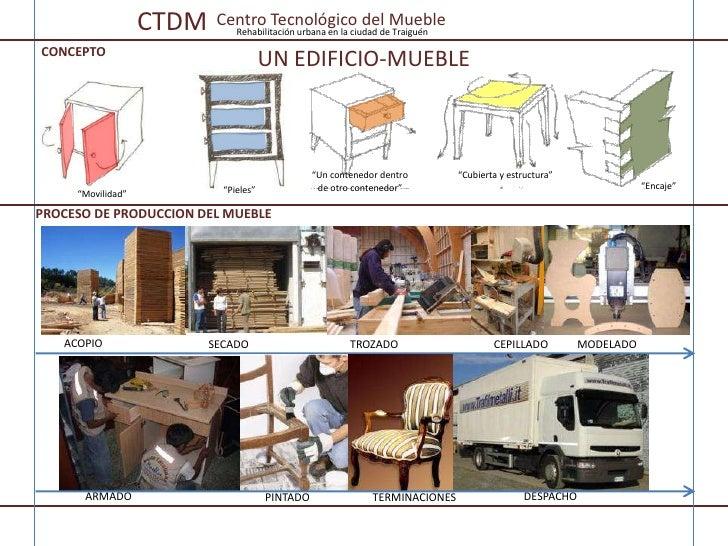 Ctdm centro tecnol gico del mueble rehabilitaci n urbana for Centro industrial del mueble