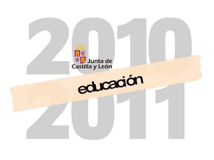 Presentación inicio curso 2010 2011 Educacyl