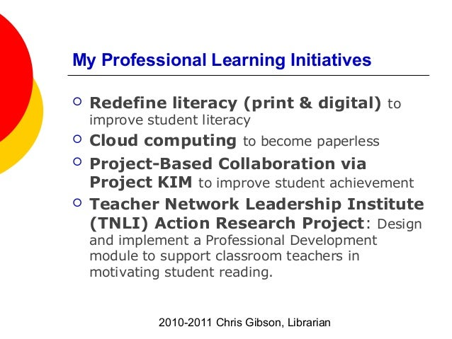 Classroom Action Research Design ~ Ms library  program goals