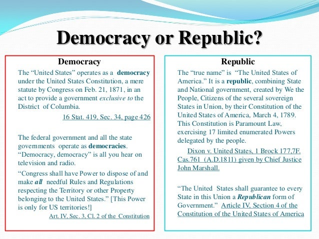 compare and contrast athenian democracy to roman republic An important distinction: democracy versus republic it is important to keep in mind the difference between a democracy and a republic of contrast to a.